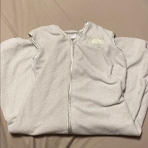 Fleece halo sleep sack medium